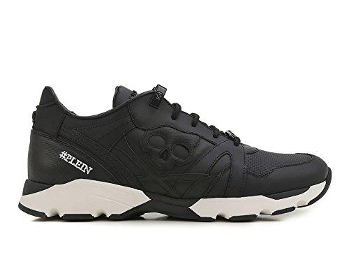 PHILIPP PLEIN Sneakers Uomo in Pelle Nero - Codice Modello: F17S MSC0354 PLE008N Nero