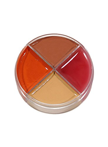 Brandwunden Creme Schminke MakeUp Schminkdose Halloween Karneval Party (Halloween-make-up Latex)