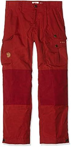Fjällräven Kids Vidda Trousers Outdoor Kinder Hose, Deep Red, 158