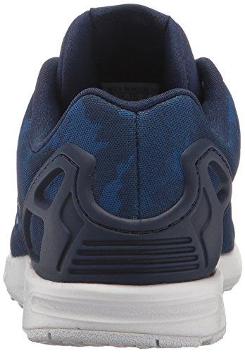 adidas Zx Flux K, Baskets Basses Mixte Enfant, Noir/Rose, 16 EU Blanc