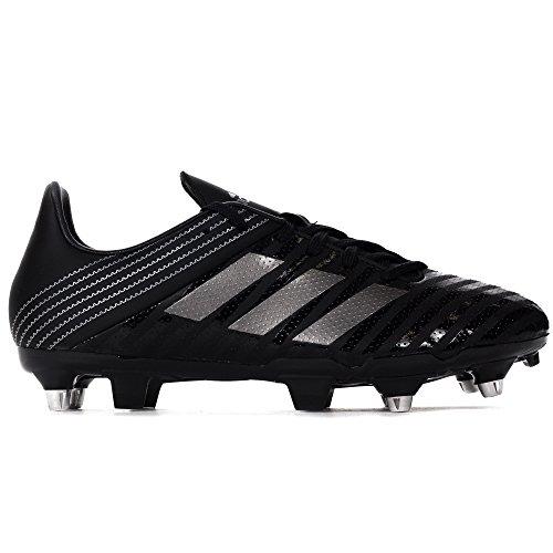 adidas Malice Sg, Scarpe da Rugby Uomo Nero (Core Black/Night Met /Utility Black )