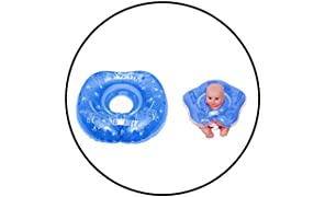 Safe-O-Kid- EN71 Compliant Swimming Neck Ring with Music-Pack of 1