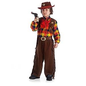 Carnival Toys-Disfraz sheriff, de sobre V multicolor
