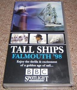 TALL SHIPS FALMOUTH 1998 98 SAILING BBC CUTTY SHARK SAIL RACE