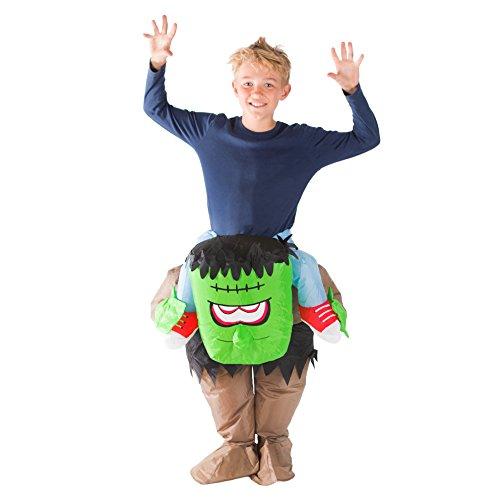 Frankenstein Kostüm Kind - Bodysocks® Aufblasbares Frankenstein Kostüm für