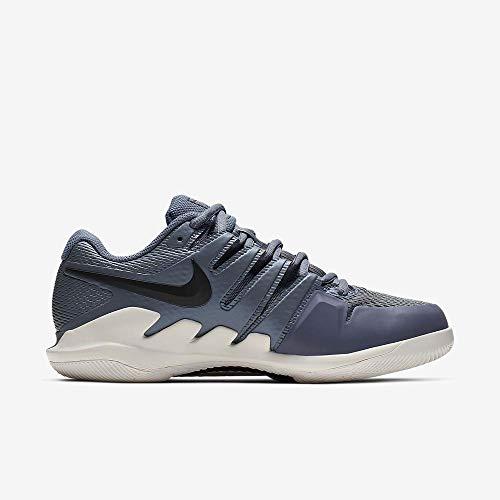 Nike Wmns Air Zoom Vapor X HC, Scarpe da Tennis Donna, Multicolore (Mtlc Black/Phantom/Blue Dusk 405), 44 EU