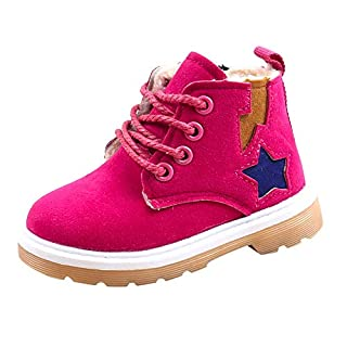 IGEMY Winter Children Shoes Waterproof Martin Boots Kids Snow Boots Brand Girls Boys Rubber Boots Baby Sneakers