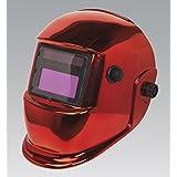SEALEY pwh598r Casque de soudage automatique Enrouleur Occultant Abat-jour 9–13–Rouge