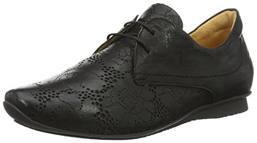Think! Chilli 80102, Scarpe Stringate Donna, Nero (Schwarz 00), 37 EU