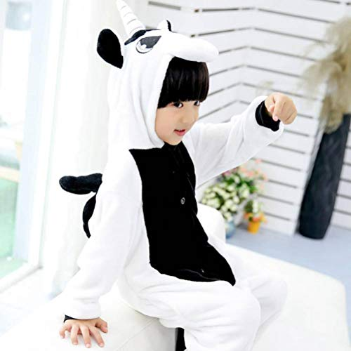 Onesies Cartoon Animal Pajamas Nightwear Unisex 3D Nightclothes Winter Sleepwear Fleece Animal Siamese Pajamas Rainbow Stars Paternity Of Children Sleepsuits Pyjamas, TBR@AKL, Black, No. 110105-11 (Men's Night Elf Kostüm)