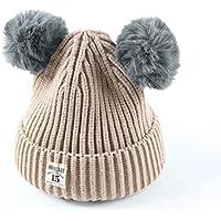 Happy Event Baby Kinder Jungen Mädchen Baumwolle Gestrickte Ball Warm Beanie Cap Hat