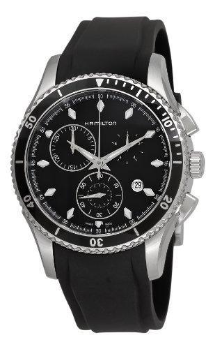 Hamilton - Orologio da polso, cronografo al quarzo, acciaio inox