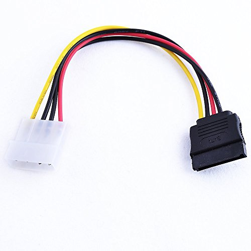 Power cable IDE Molex to SATA-SERIAL ATA HARD DRIVE EXTENSION