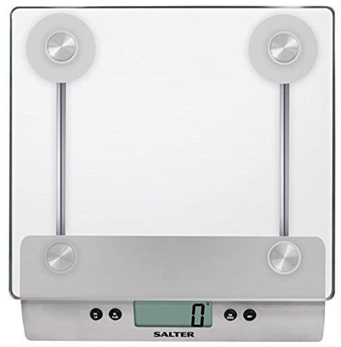 Taylor 3003BDSSSVDR Salter Aquatronic Glass Electronic kitchen scale