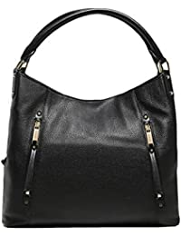 ac3daee971de MICHAEL Michael Kors Women's Evie Slouchy Shoulder Bag Black
