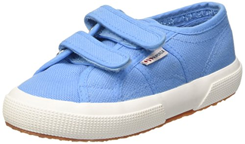 Superga 2750 JVEL Classic Unisex-Kinder Sneakers Azure Blue