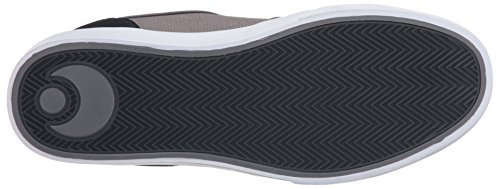 Osiris  DECAY, Chaussures de Skateboard homme noir/gris foncé