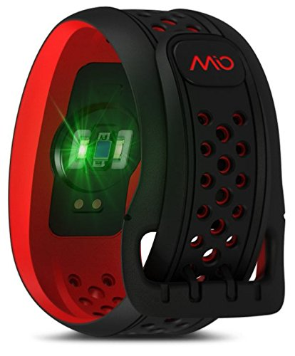 Mio FUSE Performance Activity Tracker mit Herzfrequenzmessung, Crimson, L -