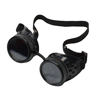 Poizen Fashion-Schutzbrille STEAMPUNK GOGGLES CG1 black