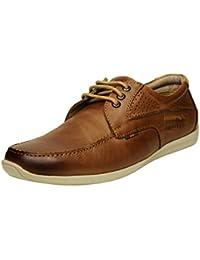 Buckaroo STROVER - Brown Men's Leather Casual - 42 EU / 8 US Men