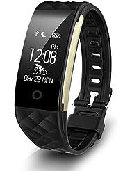 Diggro S2 inteligente del ritmo cardíaco pulsera Deportes rastreador de ejercicios Calidad del Sueño monitor de llamada / Notificación recordatorio IP67 a prueba de agua para Android IOS