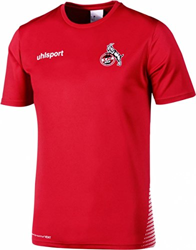 uhlsport 1. FC Köln Training Shirt 2018/2019 Rot-weiß Rot-weiß, 2XL