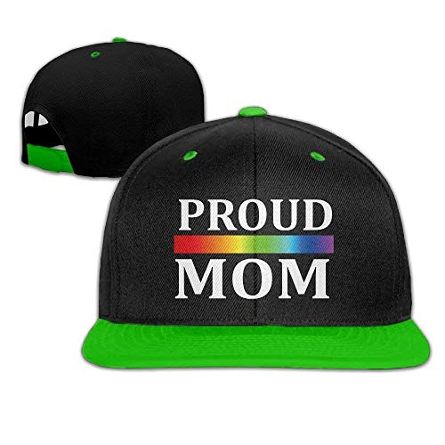 Proud Mom LGBT Pride Month 2017 Baseball Snapback -