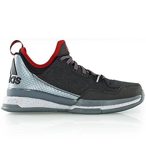 adidas D Lillard Core Black/Onix/Scarlet (D-basketball)