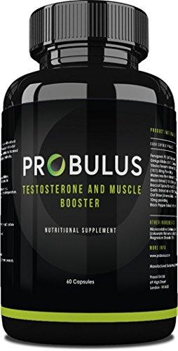 Erhöht Die Testosteron - (TESTOSTERONE BOOSTER von Probulus: Erhöht die Muskulatur, erhöht die TESTOSTERONE, verbessert die Libido mit reinem Tribulus terrestris. 100% Natur, 60 Kapseln)