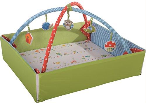 Preisvergleich Produktbild roba Babynest 'Waldhochzeit', Baby Nest 4in1: Spiel- & Krabbeldecke, sichere Wickelauflage, Activity Center mit Spielbogen & Spielelementen & Laufgittereinlage