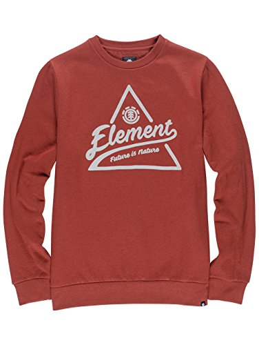 Element Sweatshirts - Element Ascent Crew Sweat... syrah heather