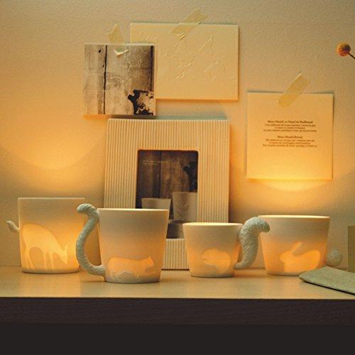 Tasse - Teebecher - Mugtail - Katze - Teelicht - 5