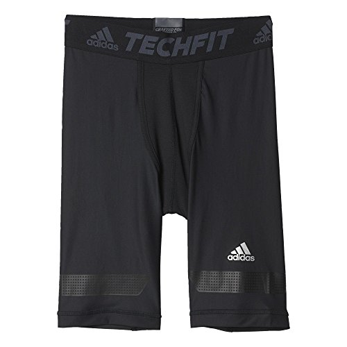 adidas Herren Tights Short TF Chill, schwarz, L, AI3342 (Shorts Tight Herren Running)