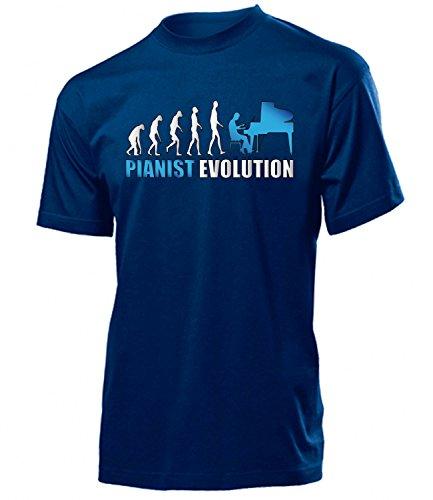 PIANIST EVOLUTION 4594(H-N-Weiss-Blau) Gr. S