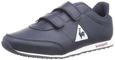 Le Coq Sportif  Racerone Ps Syn Lea, Sneakers Basses mixte enfant - Bleu - Bleu, 33 EU