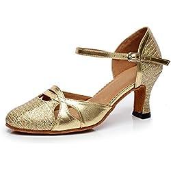 Zapatos de BAILE Dorado MINITOO