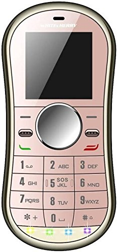 Whitecherry Spinner Keypad Phone Credit Card Size Spinner Mobile With Smooth Keypad Phone Rose Gold