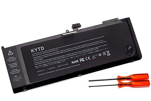 KYTD Laptop Akku A1321 A1286 10.95V 7200mAh für Apple MacBook Pro 15