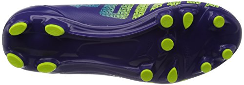 Puma Evospeed 5.3 Fg Jr, Chaussures de football mixte enfant Violet (Prism Violet-Fluro Yellow-Scuba Blue 01)