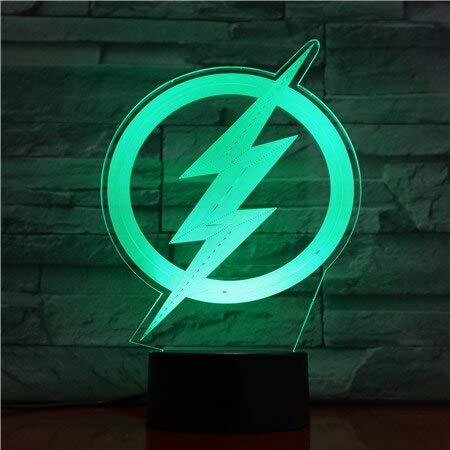 Flash Nachtlicht Kind Geburtstagsgeschenk Nachttischlampe