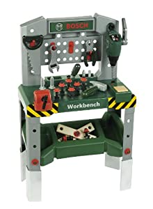 Children's Bosch Toy Workbench with Sounds and Tools