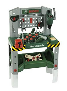 Children's Bosch Toy Workbench with Sounds and Tools (B0056KARKW) | Amazon Products