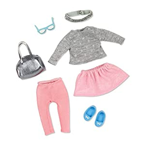 LORI LO30012Z - Ropa para muñecas - Falda rosa