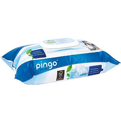Pingo - Toallitas para Bebe, 12 Paquetes de 80 Unidades