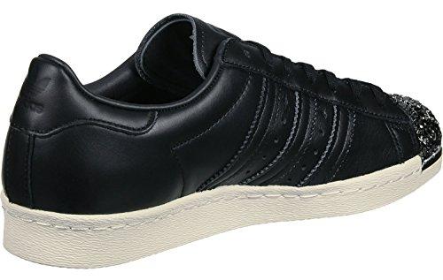 Adidas Superstar 80's 3d Metal Toe Femme Baskets Mode Noir
