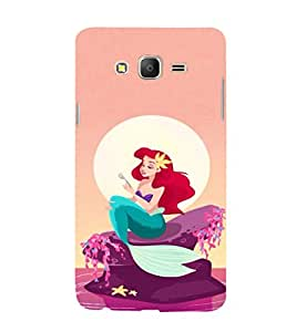 EPICCASE Pretty Mermaid Mobile Back Case Cover For Samsung Galaxy E7 (Designer Case)