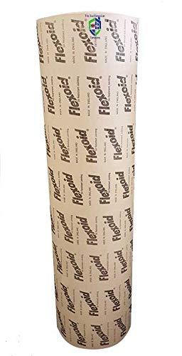Flexoid - Carta per guarnizioni in foglio da2,5m x 500mm, spesso 0,8 mm; resistente a olio e acqua