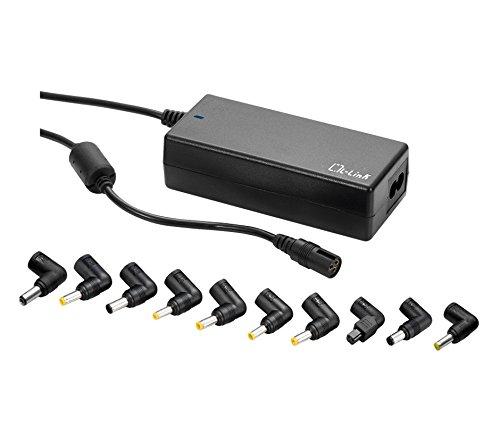 L-Link LL-AC-ADAPTER-100W - Cargador de Corriente Universal 100w automático, Color Negro