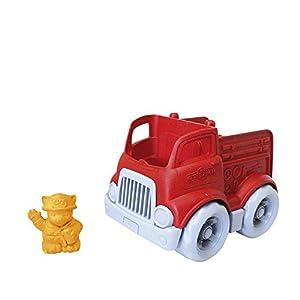 Green Toys- Mini Camión de Bomberos, (ENGR-1154)