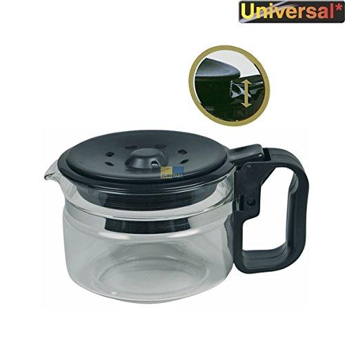 Wpro UCF200 ORIGINAL Glaskanne Kanne Kaffeekanne Krug 9-12 Tassen Universal Höhenverstellbar...